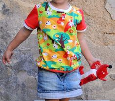 Lovely kid t-shirt by zuz-anna, eko jersey  Lillestoff