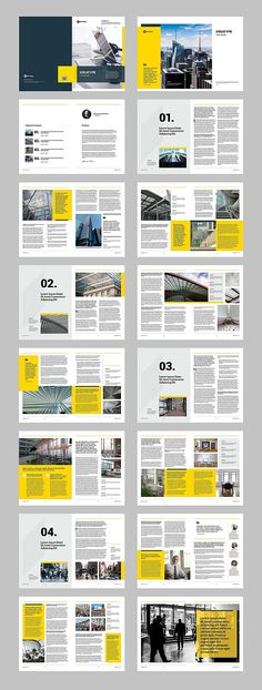 The case study template, clean and creative template. This layout is suitable for any project purpose, very easy to use, edit and add or duplicate pages to suit Brochure Indesign, Template Brochure, Corporate Brochure Design, Brochure Layout, Business Brochure, Indesign Templates, Brochure Cover, Newsletter Design Templates, Newsletter Layout