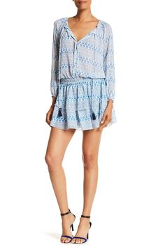 Long Sleeve Ruffle Dress by Macbeth Collection on @nordstrom_rack