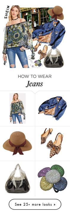"""Untitled #2090"" by hannah353 on Polyvore featuring Marine Serre, WALL, D&G and Pandora"