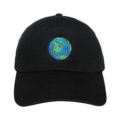 c5d2c6684f955f Dropshipping ASTROWORLD Earth Dad Hat Travis Scotts Latest Album Cap 100%  Cotton High Quality Embroidery Baseball Caps
