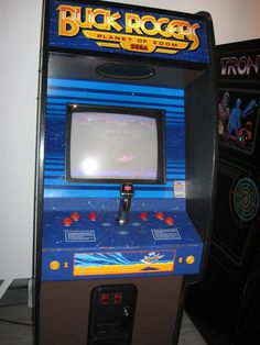 Sega's beautiful Planet of Zoom arcade game from the mid-1980s.