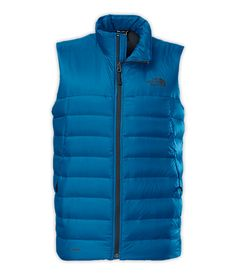 The North Face MEN'S TONNERRO VEST $149.00 shell: 20D 35 g/m² Pertex® Quantum®—100% nylon insulation: 700 fill down Avg Weight:310 g Lightweight, technical down vest with slim down chambers hugs the body for a sweater-like fit An update to a classic, this lightweight, technical down vest hugs the torso for a sweater-like fit and features slim down chambers that will capture and maintain warmth in cool-to-cold conditions.