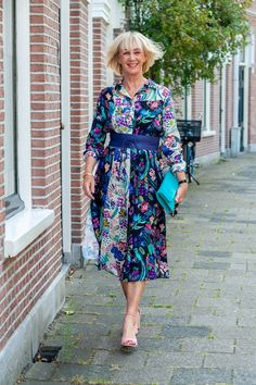 A colourful midi shirtdress - No Fear of Fashion Midi Shirt Dress, Love And Marriage, What I Wore, My Outfit, Her Hair, Summer Outfits, Daughter, Photoshoot, Shirtdress