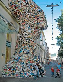 thalia book sculpture