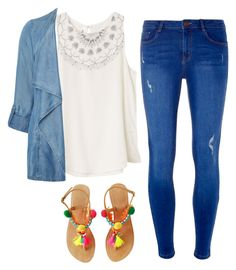"""""""Little pop #1"""" by danielle09-1 on Polyvore featuring RVCA, Evans and Dorothy Perkins"""