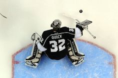 "NHL "" National Hockey League ""player Jonathan Quick 32"