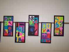 WHAT'S HAPPENING IN THE ART ROOM??: 2nd GRADE-Henri Matisse