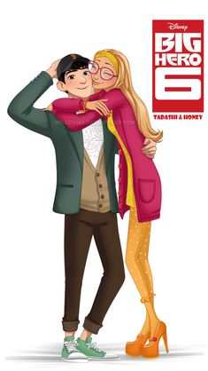 honey lemon and tadashi