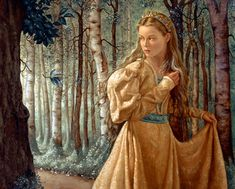 The Silver Wood ~ Ruth Sanderson