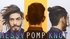 3 Easy Hairstyles 2016 (For Long Hair) #Hair #Hairstyles #Messy #Messyhairdontcare #Messyhair #TopKnot #Sidepart #Men #Menhair #Menfashion #Menhairstyle