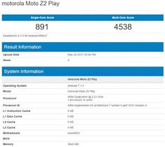 Tech News India: Lenovo Moto Z2 Play spotted on GeekBench again.