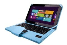 SuperNight Separable Removable Wireless Bluetooth 3.0 Keyboard PU Leather Stand Case Cover w/Touchpad Auto-Sleep/Week For Microsoft Surface RT/Pro & Microsoft Surface Pro 2 10.6 inch Windows 8 Tablet - Blue Color SUPERNIGHT http://www.amazon.com/dp/B00JVJS7YM/ref=cm_sw_r_pi_dp_o5FVtb1AQJX38C0E