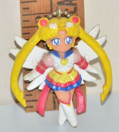 VINTAGE Sailor Moon Figure Bandai Keychain 1994