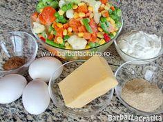 Legume gratinate la cuptor Ingrediente