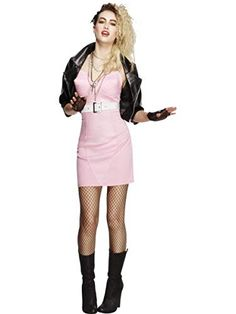Buy Adult Rocker Diva Costume, available for Next Day Delivery. Party like its the in our Adult Rocker Diva Costume! 80s Costume, Costumes Sexy Halloween, Pop Star Costumes, 80s Party Costumes, 80s Party Outfits, Fancy Dress Outfits, Halloween Fancy Dress, Halloween Kostüm, Celebrity Outfits