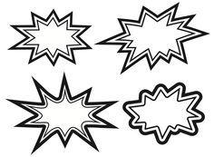superhero coloring sheet printables pow - Google Search