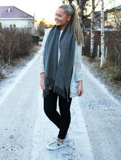 Erica Mohn Kvam, Inspiration, Like the scarf!