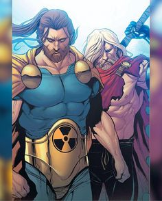 Hyperion and Odinson (Unworthy Thor)