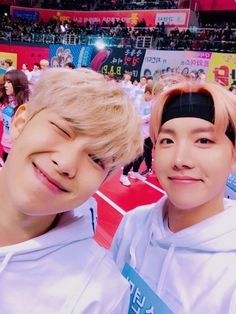 NamSeok || BTS J-Hope & Rap Monster || Bangtan Boys Jung Hoseok & Kim Namjoon