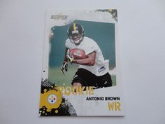 Antonio Brown Score 2010 Football Card.