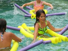 X-3 FLOATEEZ water floats can be used like canoes while kickin' your feet like a paddle boat!