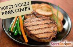 Honey Garlic Pork Chops Recipe | Meat | Pinterest | Honey Garlic Pork Chops, Pork Chops and Pork