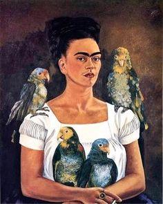 """""""Başıma gelen en iyi şey, acı çekmeye alışmaya başlamam."""" diyor Kahlo. Geçirdiği kaza onu yatağa hapsetmiş. Talihsizliklerle dolu yaşamının koca bir bölümünü, annesinin sıkılmasın diye yatağın tavanına astığı, Kahlo'nun """"gündüzlerin ve gecenin celladı"""" olarak tanımladığı aynalara bakarak geçirmiş. 143 resminin 55 tanesinin otoportre oluşuna da bu """"cellat"""" sebep olsa gerek. Picasso ondan, """"Biz onun gibi insan yüzleri çizmeyi bilmiyoruz"""" diye övgüyle bahsediyor. Kendini """"uçmak isteyip de…"""