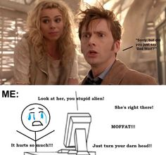Why Moffat, why?!?! I wanted to yell and scream and cry at the tv when watching this