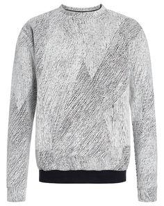 FRISUR CLOTHING Sweatshirt HANS - schwarz/weiß  Jetzt auf kleidoo.de bestellen!  #kleidoo #fashion #mpde #trend #mensfashion #pullover #frisurclothing