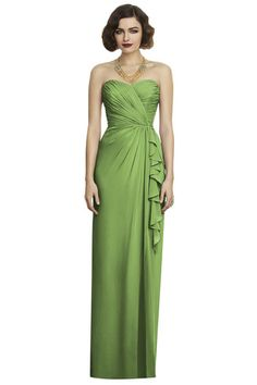 Shop Dessy Bridesmaid Dress - 2895 in Lux Chiffon at Weddington Way. Find the perfect made-to-order bridesmaid dresses for your bridal party in your favorite color, style and fabric at Weddington Way.