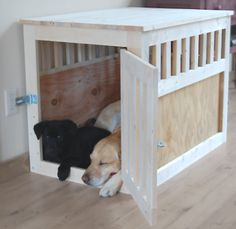 Combination end-table & dog bed. I saw one of these for WAAAY to much money, and gave up on the idea. THIS would be so fun to make and then we could eliminate the homemade PVC-bed... or even tuck it inside!