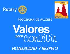 PROGRAMA DE VALORES HONESTIDAD Y RESPETO