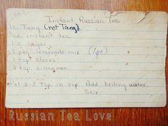 Russian tea recipe