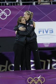 Misty and Kerri's Golden Night - Beach Volleyball Slideshows | NBC Olympics