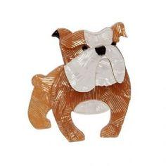 Boof Bulldog Brooch