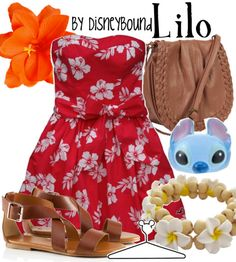 Lilo by disneybound