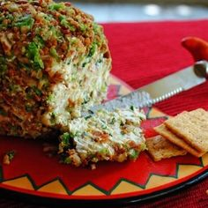Bacon Jalapeno Cheese Ball. Interesting. Hubby might like this.