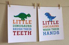 Little dinosaurs...