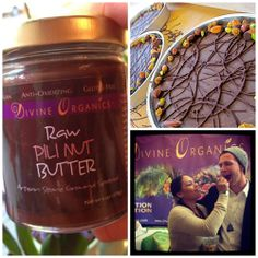 Spreading the #pili nut butter love. Thank you #DivineOrganics for the decadent treat! Vegan Chocolate-free version of #Nutella. Brilliant. www.mamalciousmarket.com