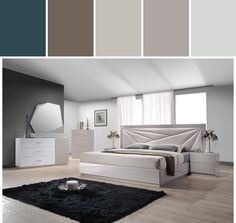 Bedrooms Designed By Lugano Furniture via Stylyze