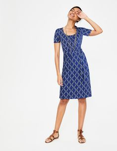 Discover our wide range of dresses for women at Boden, from smart day dresses to partywear. Shop quality British fashion in bold colors, styles, and prints. Casual Summer Dresses, Dresses For Work, Boden Uk, Latest Fashion Dresses, British Style, Everyday Outfits, Blue Dresses, Wrap Dress, Bodycon Dress
