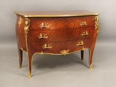 OnlineGalleries.com - Bronze Mounted Commode  By François Linke