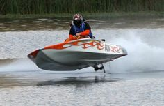 Drag boat BGF high jump