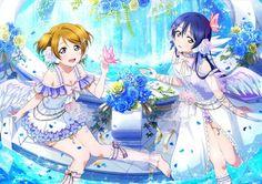 Love Live! School Idol Festival; UR pair Hanayo and Umi - idolized