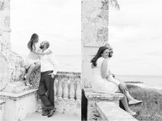Timeless Black and White Engagement photos on Worth Avenue | Lifestyle Spring Engagement Photos in Worth Avenue, Palm Beach, FL | Colorful Worth Avenue, Palm Beach Engagement | West Palm Beach Engagement Photography | Crystal Bolin Photography