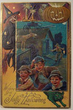 Vintage Halloween Postcard -----Nash | Flickr - Photo Sharing!