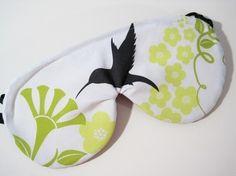 Certified Organic Cotton Sleep Eye Mask  by AllNaturalSleepShop