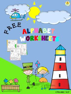 This Alphabet Worksheets contains 26 pages of letters. Students will read, trace and color the alphabet. These are great for identifying uppercase and lowecase letter in a fun way. This product is a part of a BUNDLE : Mega Bundle -Alphabet Alphabet Tracing, Alphabet Worksheets, Alphabet Activities, Kindergarten Worksheets, Literacy Activities, Learning Resources, Teacher Resources, Special Education Classroom, Future Classroom