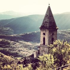 Calascio. Abruzzo. Italy.